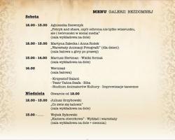 menu galerii